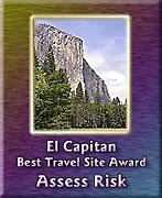 Elcapitan Best Travel Site Award