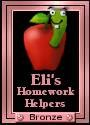 Eli's Homework Helper Award