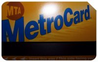 picture of a metro card
