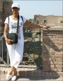 Picture of me in the Forum in Rome