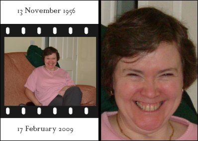 Picture of Christine Owen from Rotherham, United Kingdom who died of cancer on 16 February 2009